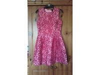*New* Pink Lace Formal Dress Size 12