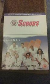 Scrubs boxset