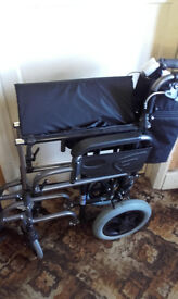 WHEELCHAIR (Almost) Brand New