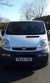 Vauxhall Vivaro, very low mileage, excellent runner.