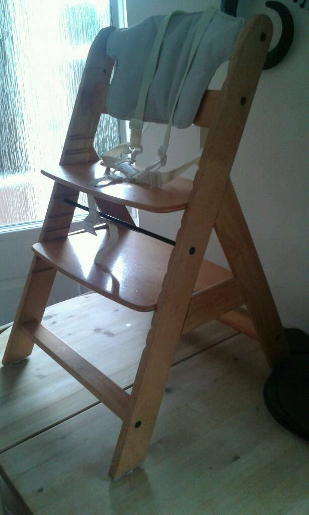 Original A frame Wooden high chair like stokke  Cheltenham  Gloucestershire   25 00  Images  Map  Original A frame Wooden high chair like stokkeOriginal A frame Wooden high chair like stokke   in Cheltenham  . High Chair Like Stokke. Home Design Ideas