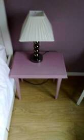 Small Solid Wood Occassional / Bedside Table