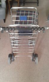 Marketeer 6 Wheeled Shopping Trolley