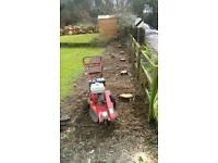 Tree stump grinding grinder hire removal service covering all of Pembrokeshire