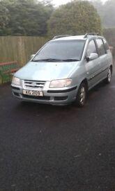 Hyundai Matrix Auto 2005 - low mileage
