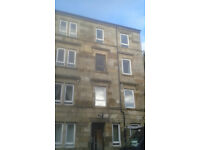 2 Bed unfurnished 2nd floor flat in King St, Paisley PA1 2PW