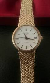 Rotary Ladies Gold Plated Wristwatch Quartz