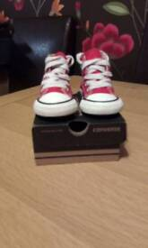 Converse Infant All-star Red size 3