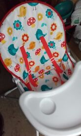 ** FREE ** High chair and comfy baby chair