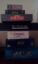 Huge selection of board games. Hardly used. Please see photo for games listed.