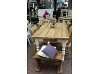 Bespoke pine farmhouse table
