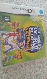 Nintendo ds game Guinness world records the videogame