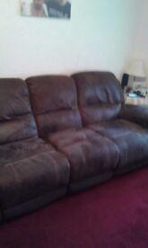 2 swade sofas for sale £150 ono
