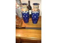 Royal doulton vases