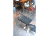 Dog Cage Crate fold away
