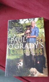 "Paul O'Grady's ""Country Life"" Hard Back Book"