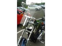 genuine harley davidson detachable windshield