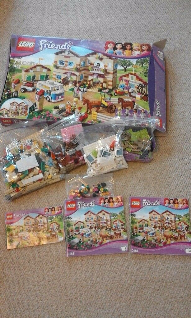 Lego friends summer horse riding camp