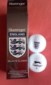Slazenger England Golf Balls