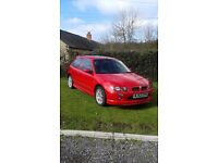 MG ZR + SOLAR RED ONLY 67000 MILES LOVELY CONDITION THROUGHOUT