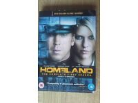 HOMELAND The Complete First Season DVD 12 Episodes