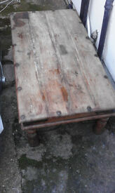 wooden coffe table BARGAIN