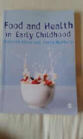 Food and Health in Early Childhood - Deborah Albon and Penny Mukherji (1st edition)