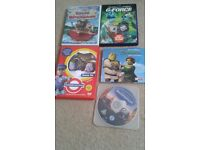dvd, tales of the riverbank, underground ernie, g-force, shrek, ratatoulle