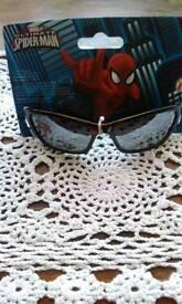Marvel Ultimate Spiderman Sunglasses 100 % uv New in Bag