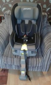 2 x Pampero Dumpling Isofix Group 1 Car Seat