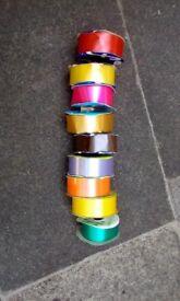 9 mixed polypropylene ribbons