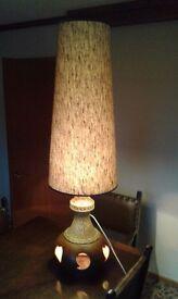 1970s WEST GERMAN FAT LAVA LAMP