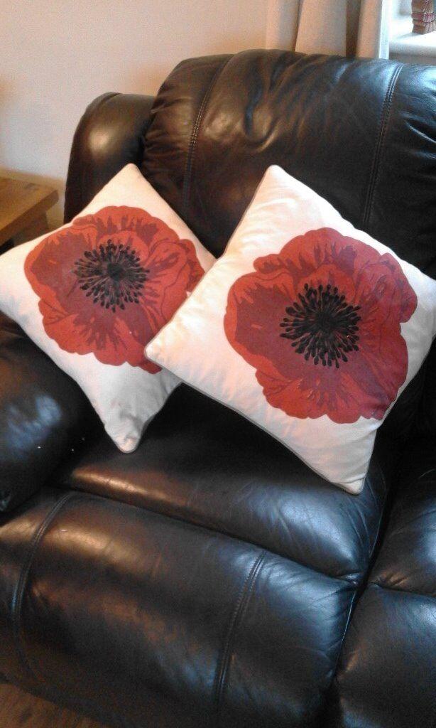 Poppy Cushions