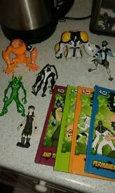 Ben 10 characters and books