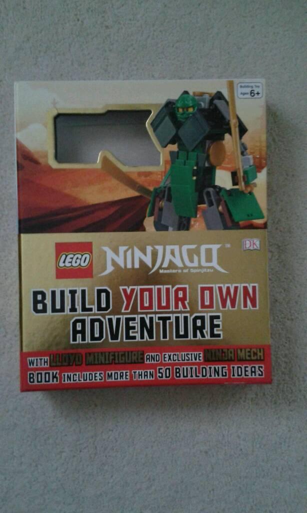 Lego ninjago building your own adventure