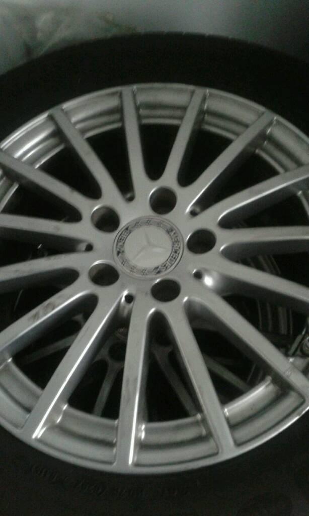 Mercedes Car Class Alloy Wheels