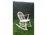 Wooden Rocking Nursing Chair