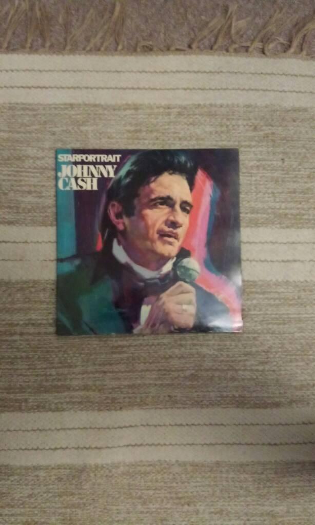 Johnny Cash starportrait vinyl