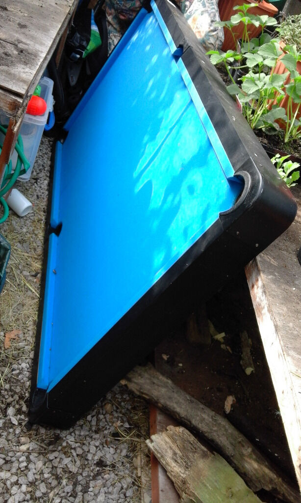 SWAPbest Offer Pool Table Great Condition Easy Transportdismantle - Dismantle pool table