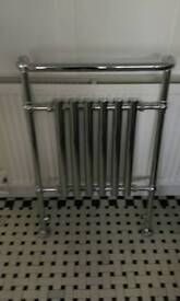 Traditional chrome towel radiator item 2