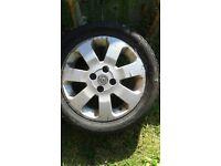 Alloy wheel for vaxhall corsa.