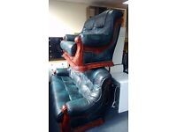 Leather Two Piece Suite 3 Seater and 2 Seater.