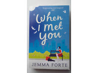 When I Met You by Jemma Forte book