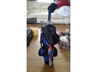 Junior bag with 4 golf clubs