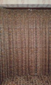Multicoloured Heavy Curtains for Sale