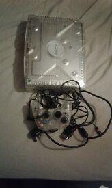 original crystal xbox with games