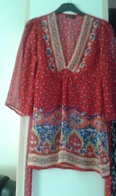 LADIES BRAND NEW BLOUSE/TOP SIZE 14