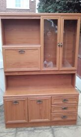 large wall unit.free to collector