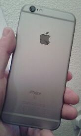 iphone 6s .. 16 gig space grey on ee