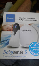 baby sense 5 breathing and movememt